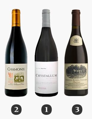 TOP Südafrikanische Pinot Noir