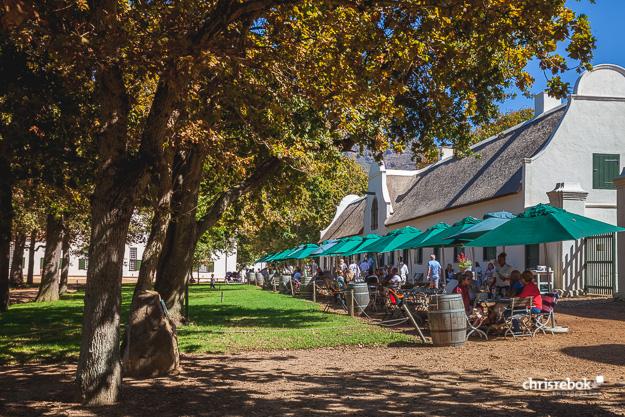 Jonkershuis Restaurant auf Groot Constantia