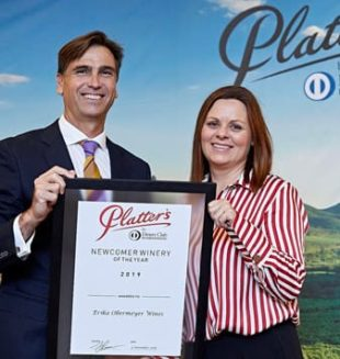 Platter's 2019 Newcomer Winery of the Year - Erika Obermeyer Wines