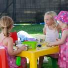 Kiddies playground at Stellenbosch Wine Festival Wine Expo 2013