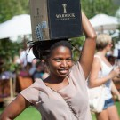 "Warwicks ""Black Lady"" at Stellenbosch Wine Festival Wine Expo 2013"