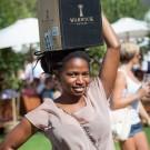"Warwicks ""Black Lady"" at Stellenbosch Wine Festival Wine Expo 2013"