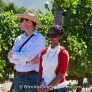 Vineyard tour at Grande Provence Harvest Festival 2012 #6985