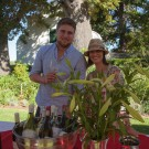 Claudia Young-Kelly & Winemaker of Waterkloof Wine Estate at Constantia Fresh Festival 2013