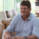 Hein Koegelenberg CEO of La Motte and Leopard's Leap wines at Franschhoek Summer Wines Festival