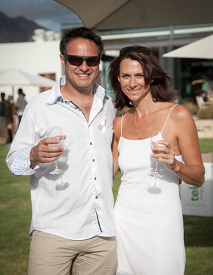 Franschhoek Summer Wines theme 2013 'elegantly white'