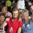 People having fun at Constantia Food and Wine Festival