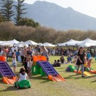 Kiddies entertainment at Constantia Food and Wine Festival