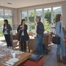 Riedel Glass Tasting with Platters at Creation Wines