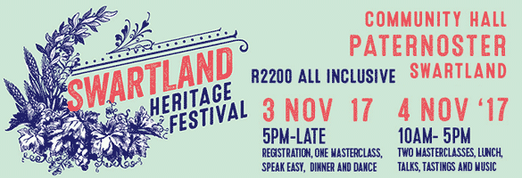 Swartland Heritage Festival 2017